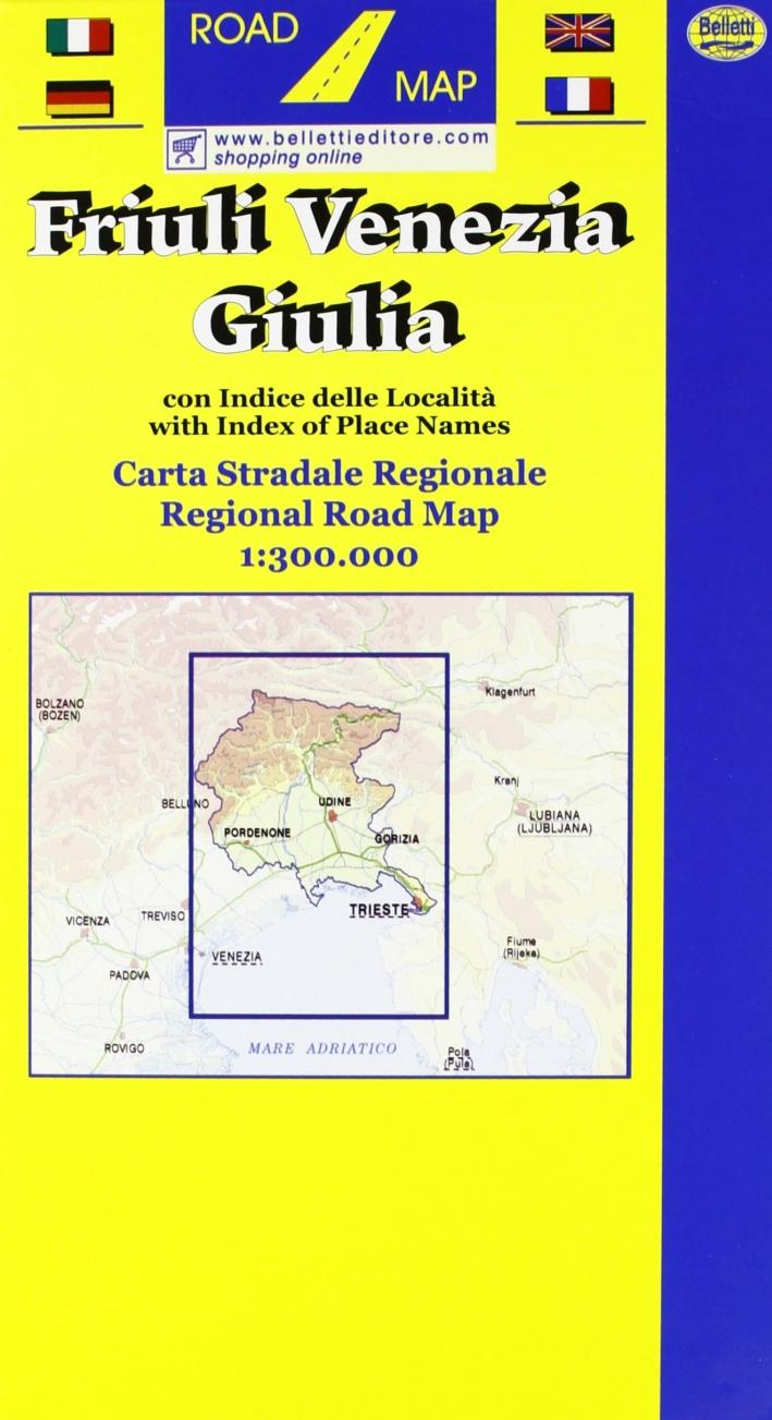 Friuli Venezia Giulia 1:250.000 (72x63)