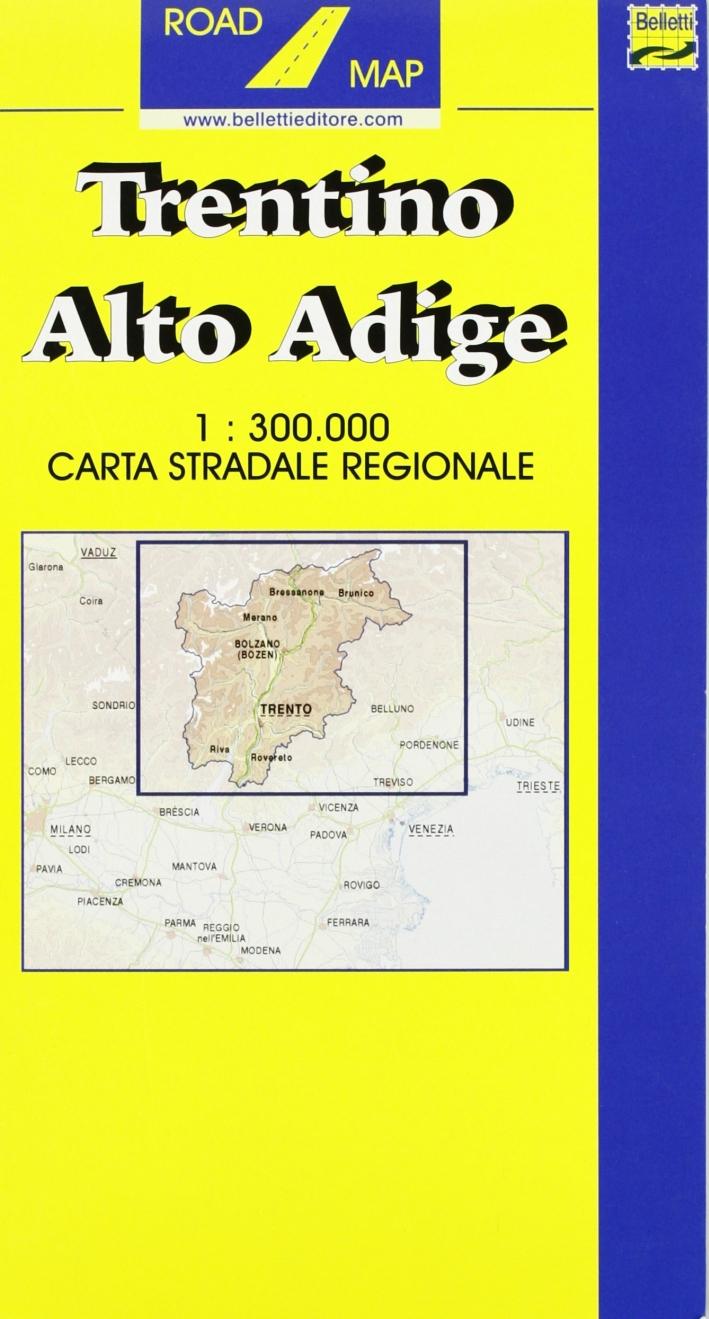 Trentino Alto Adige 1:300.000