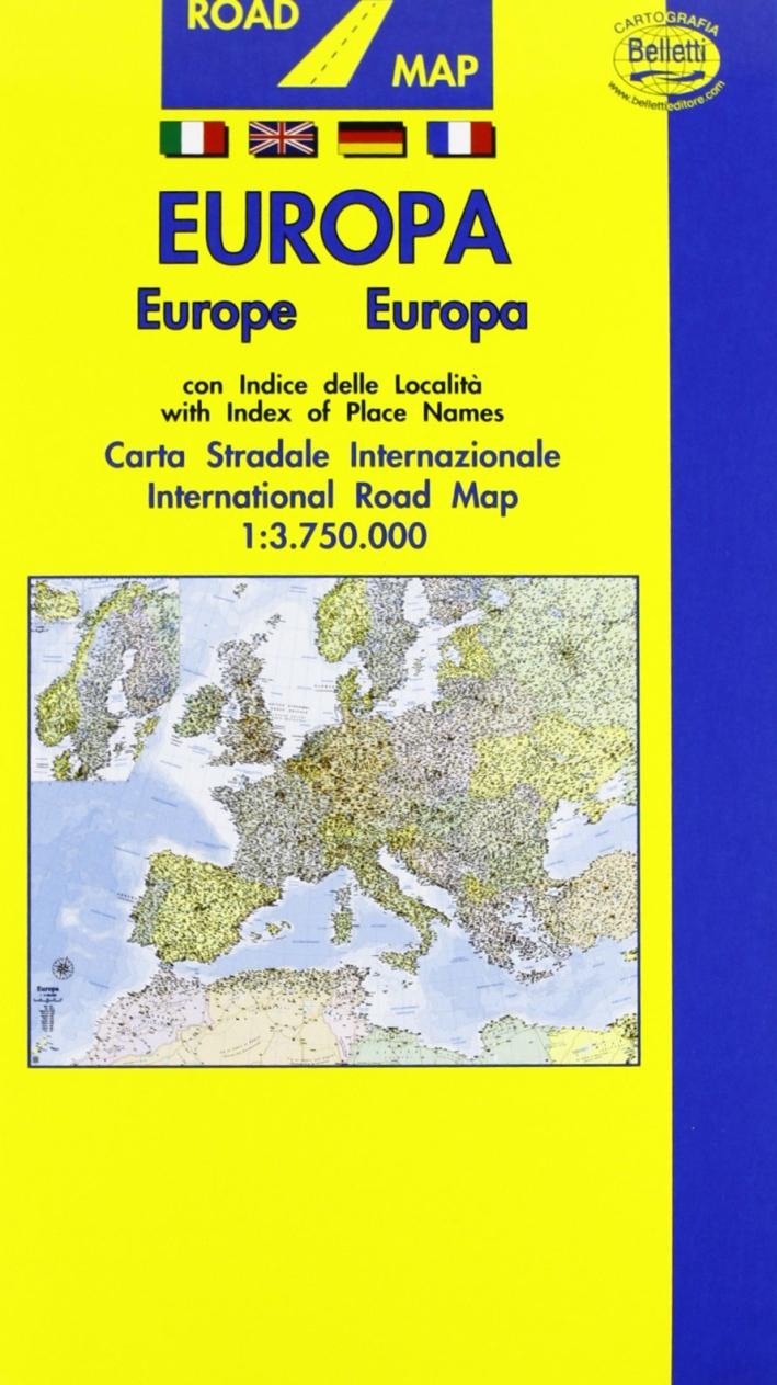Europa 1:3.750.000