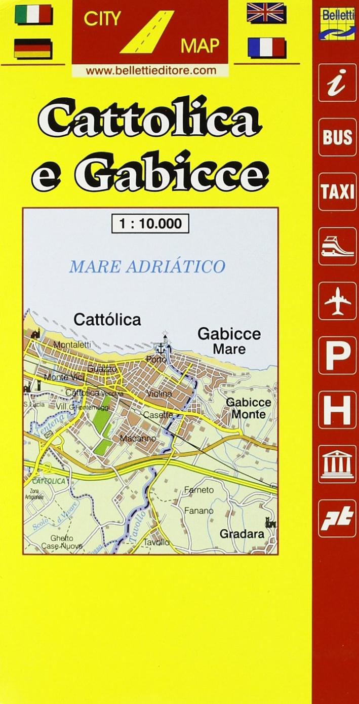 Cattolica. Gabicce 1:10.000
