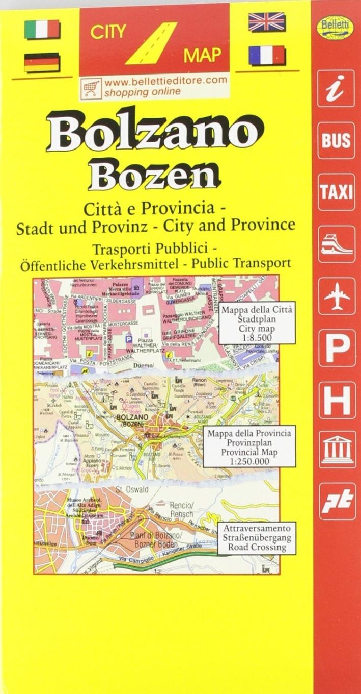 Bolzano. Provincia e città