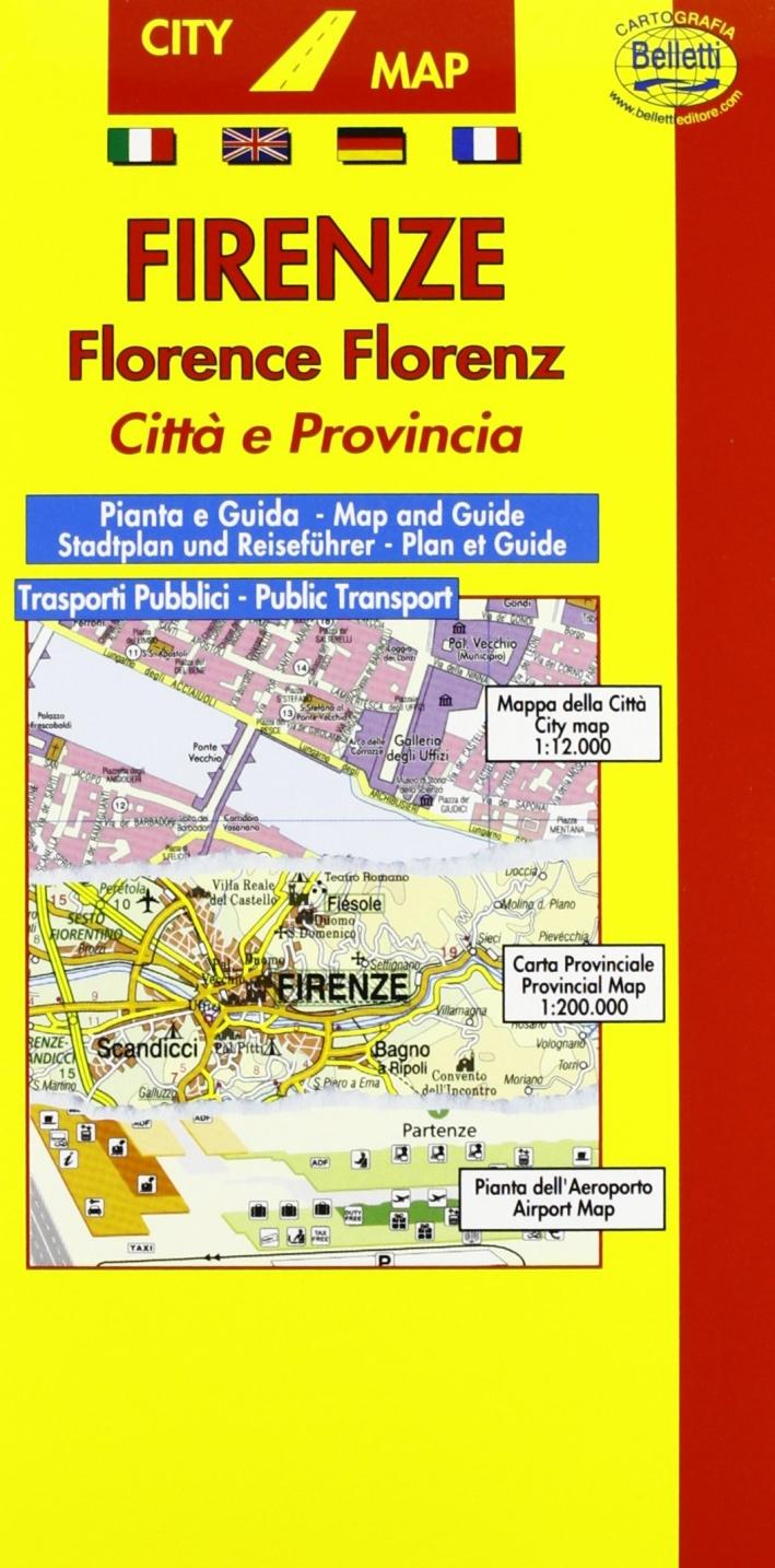 Firenze 1:11.000. Con guida turistica