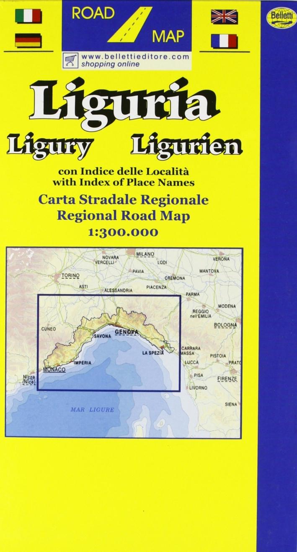 Liguria 1:300.000