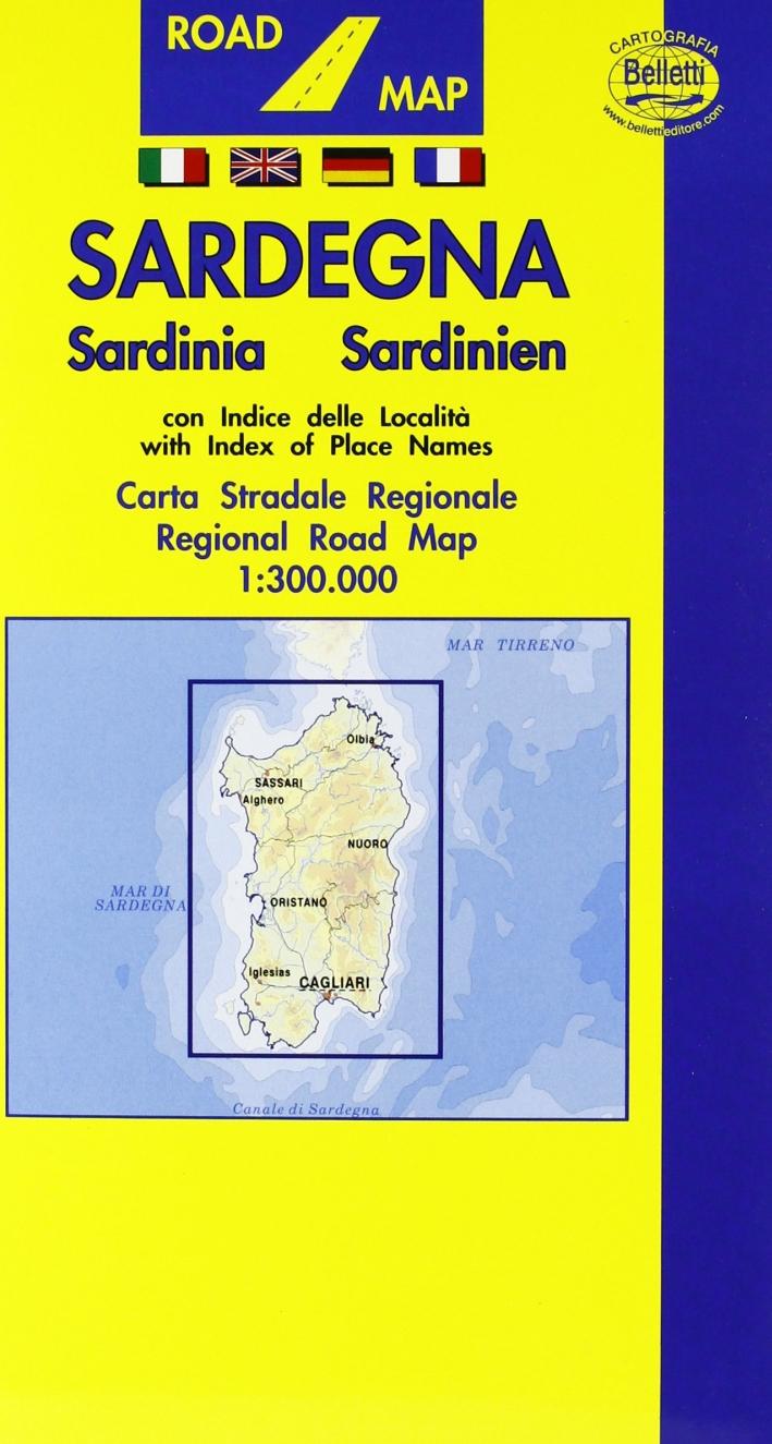 Sardegna 1:300.000