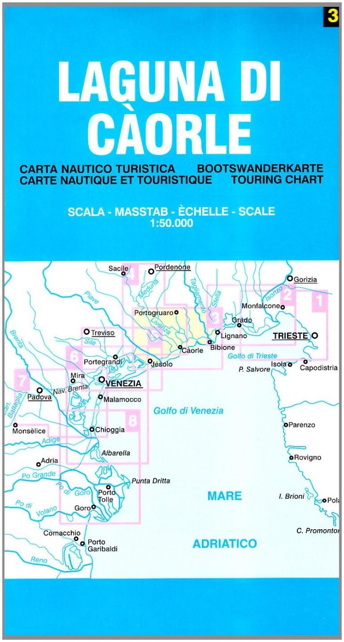 Laguna di Càorle 1:50.000