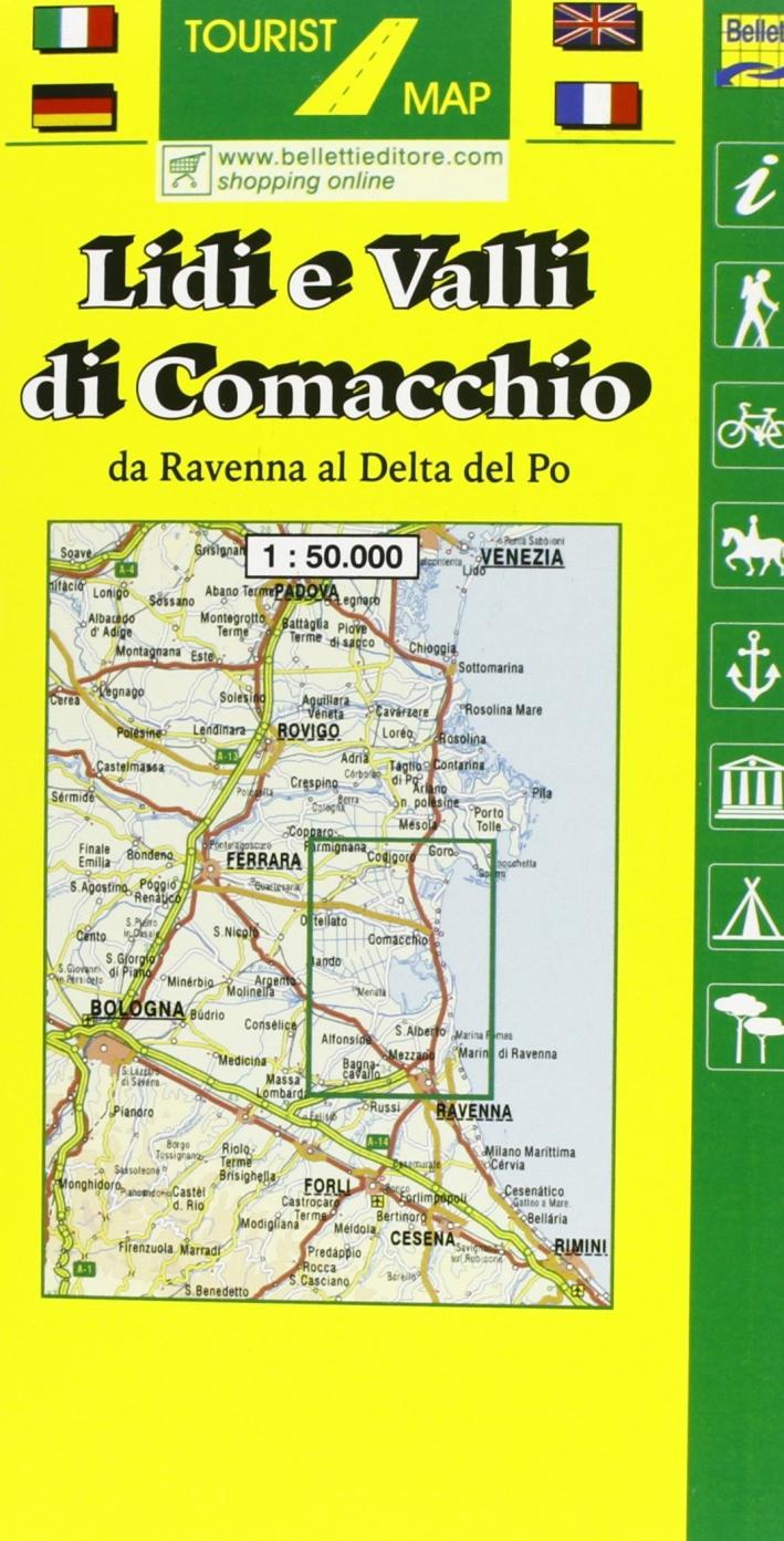 Lidi e valli di Comacchio 1:50.000