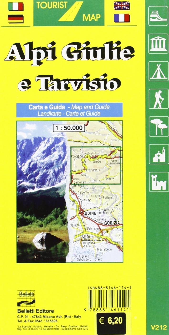 Alpi Giulie. Tarvisio 1:50.000