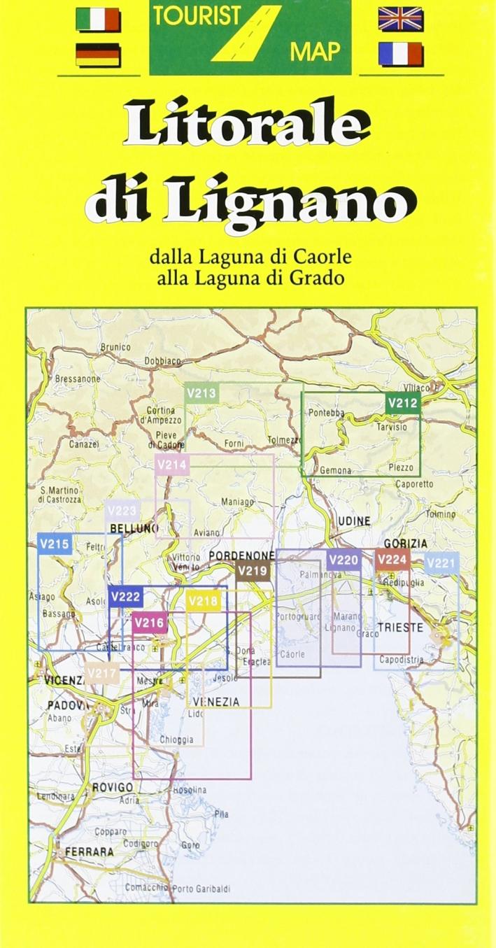 Litorale di Lignano 1:50.000