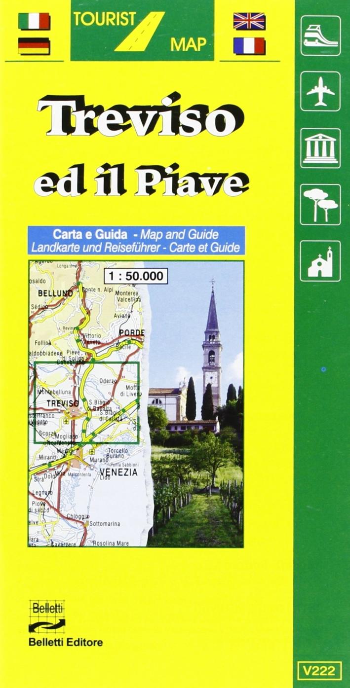 Treviso. Il Piave 1:50.000