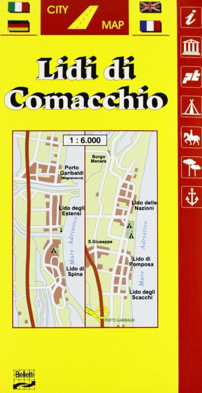 Lidi di Comacchio 1:6.000