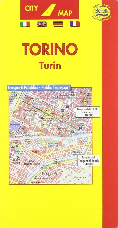 Torino. Con trasporti pubblici 1:10.000