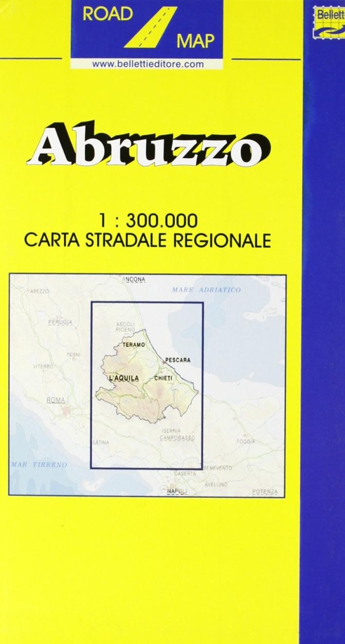 Abruzzo. Molise 1:300.000