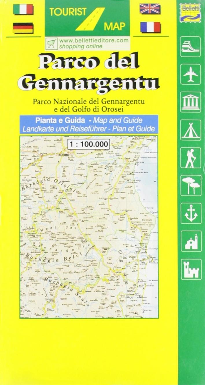 Parco del Gennargentu 1:100.000