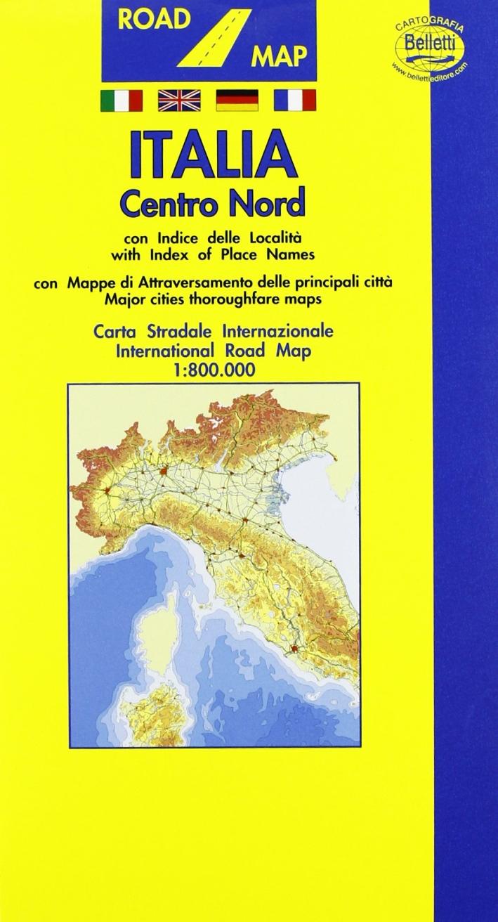 Italia stradale. Nord 1:800.000