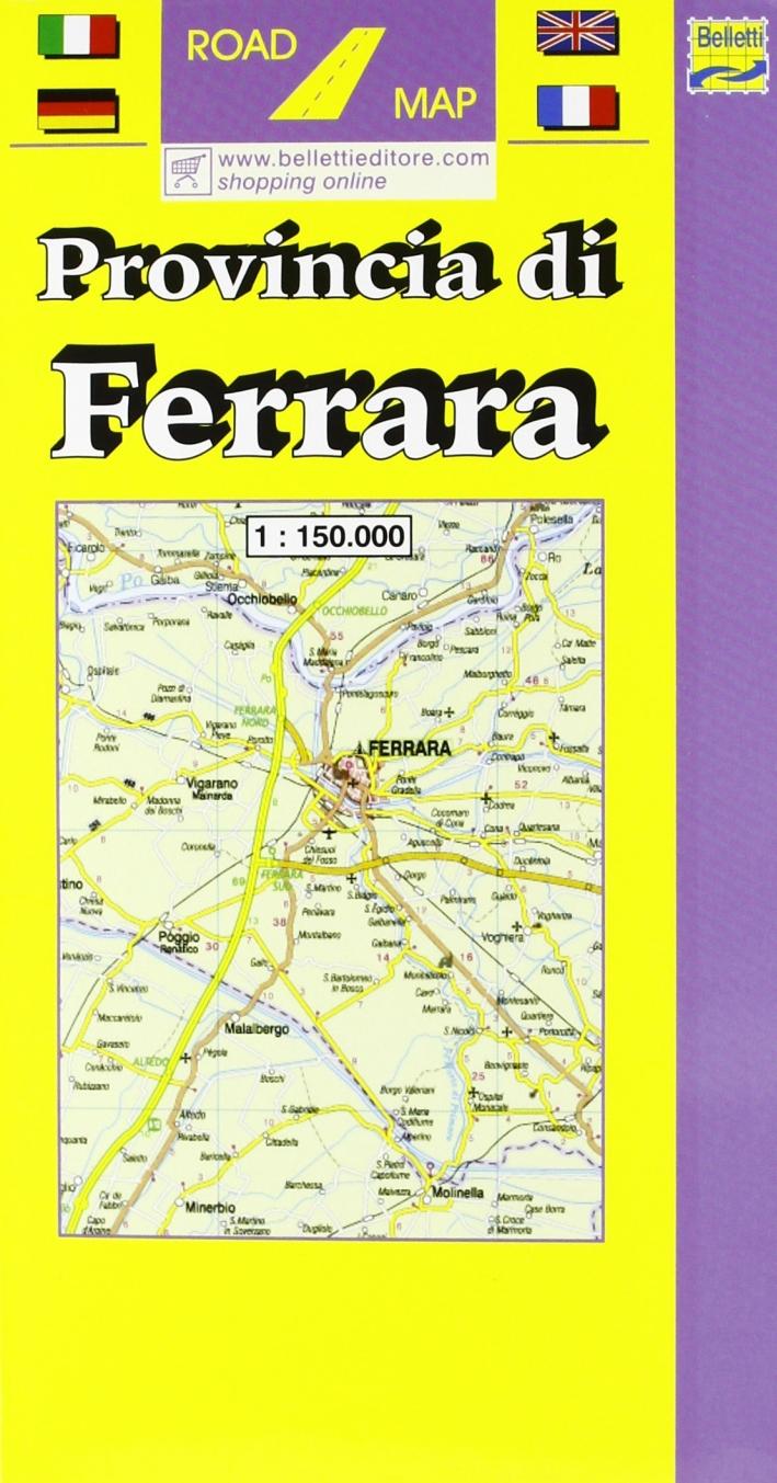 Provincia di Ferrara 1:150.000