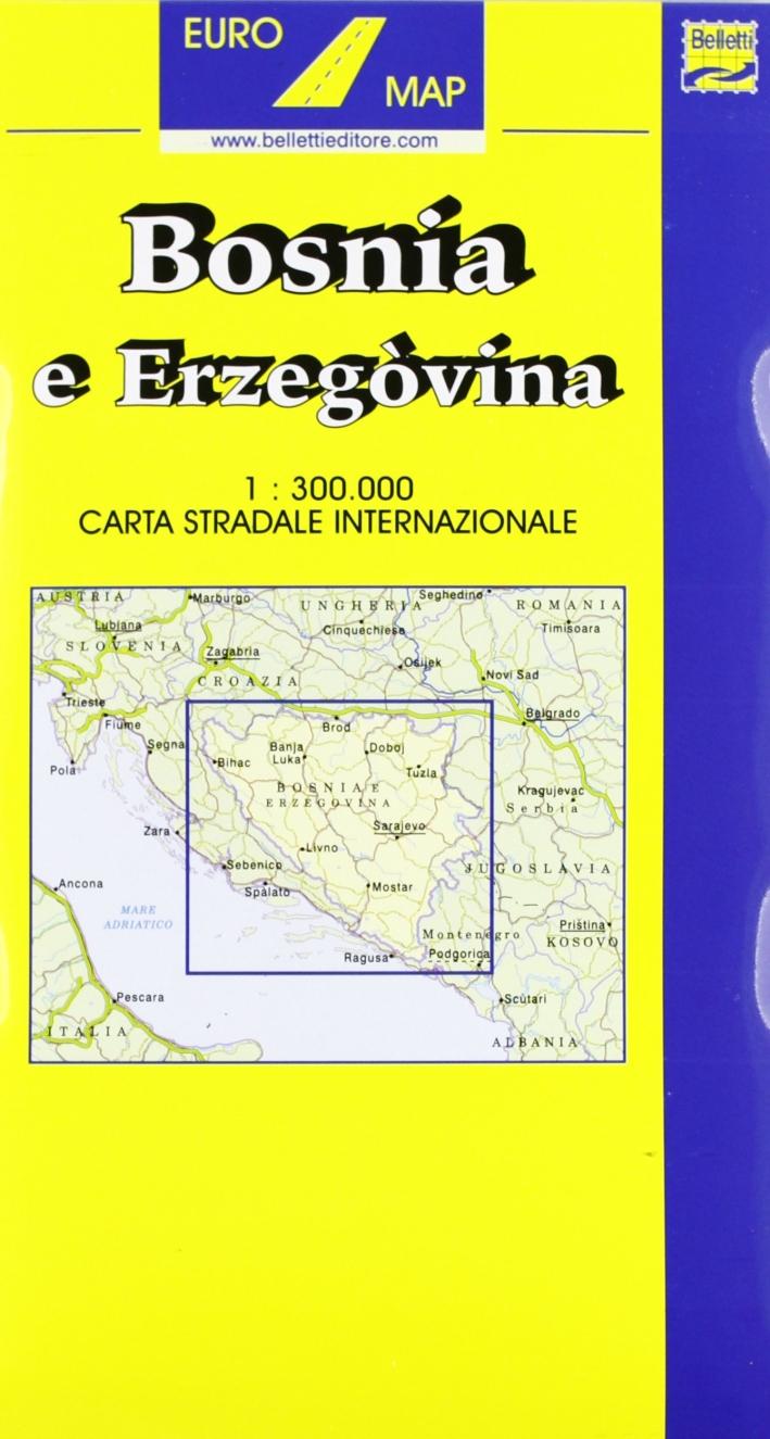 Bosnia-Erzegovina 1:300.000