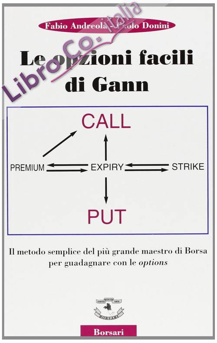 Le opzioni facili di Gann. Il metodo semplice del più grande maestro di borsa per guadagnare con le options.
