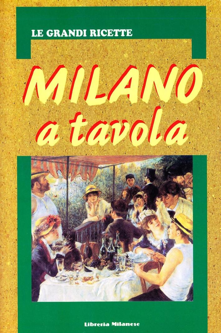 Milano a tavola.