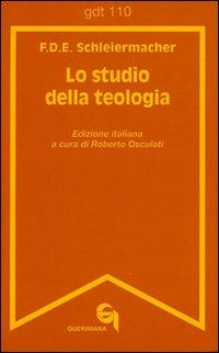 Lo studio della teologia. Breve presentazione