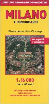 Milano e circondario 1:16.000.