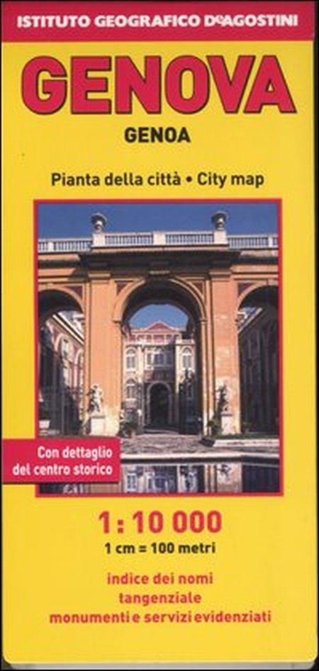 Pianta di Genova 1:10.000