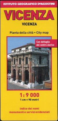 Vicenza 1:9.000. [Ed. Multilingue].