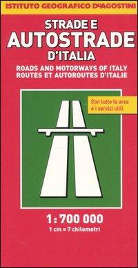 Strade e autostrade d'Italia 1:700.000
