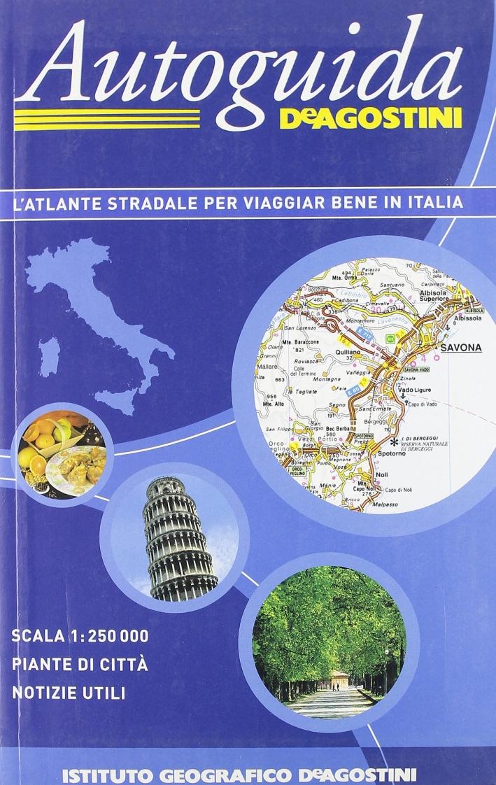 Autoguida d'Italia 1:250.000