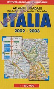 Atlante stradale Italia 1:250.000 2002-2003