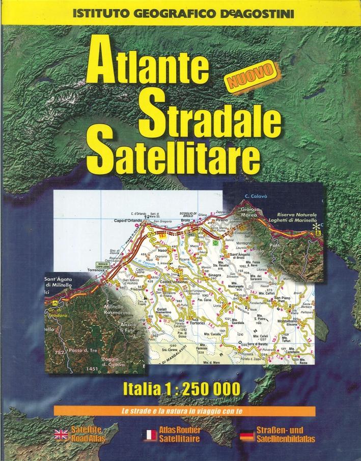 Atlante stradale satellitare d'Italia