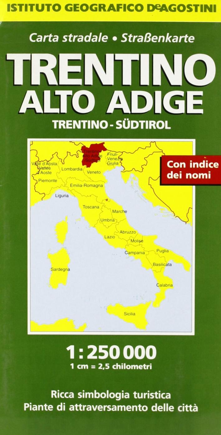 Trentino Alto Adige 1:250.000