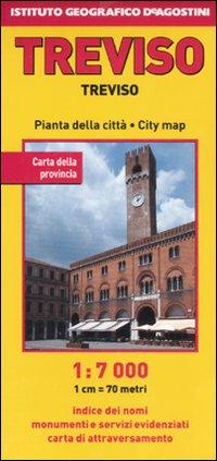 Treviso 1:7.000. [Edizione Multilingue]