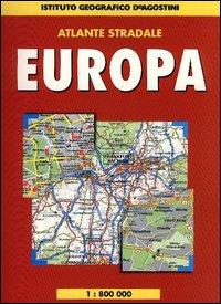 Atlante stradale Europa 1:800.000 2003-04