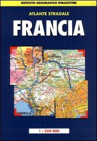 Atlante stradale Francia 1:250.000.