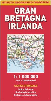 Gran Bretagna, Irlanda 1:1.000.000.