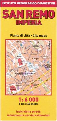 Sanremo 1:6.000. Imperia 1:6.500. [Edizione Multilingue]