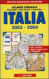 Atlante stradale Italia 1:250.000 2003-04