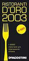 Ristoranti d'oro 2003 superpocket.