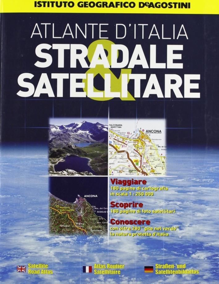 Atlante stradale satellitare Italia