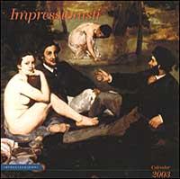 Impressionisti. Calendario 2003