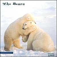 The bears. Calendario 2003