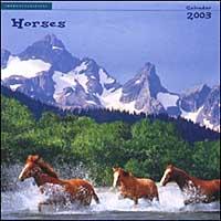 Horses. Calendario 2003.