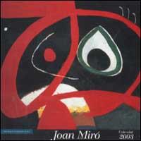 Joan Mirò. Calendario 2003