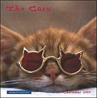Cats. Calendario 2003 spirale.
