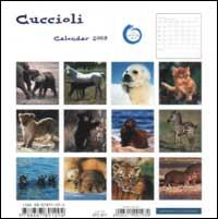 Cuccioli. Calendario 2003 spirale.