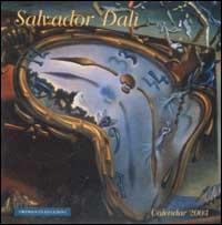Salvador Dalì. Calendario 2003 spirale.