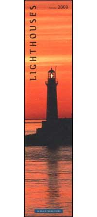 Lighthouses. Calendario 2003 lungo.
