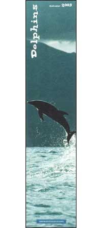 Dolphins. Calendario 2003 lungo.
