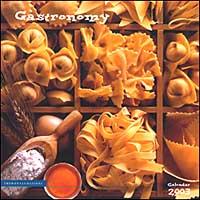 Gastronomy. Calendario 2003.