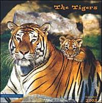 The tigers. Calendario 2003.